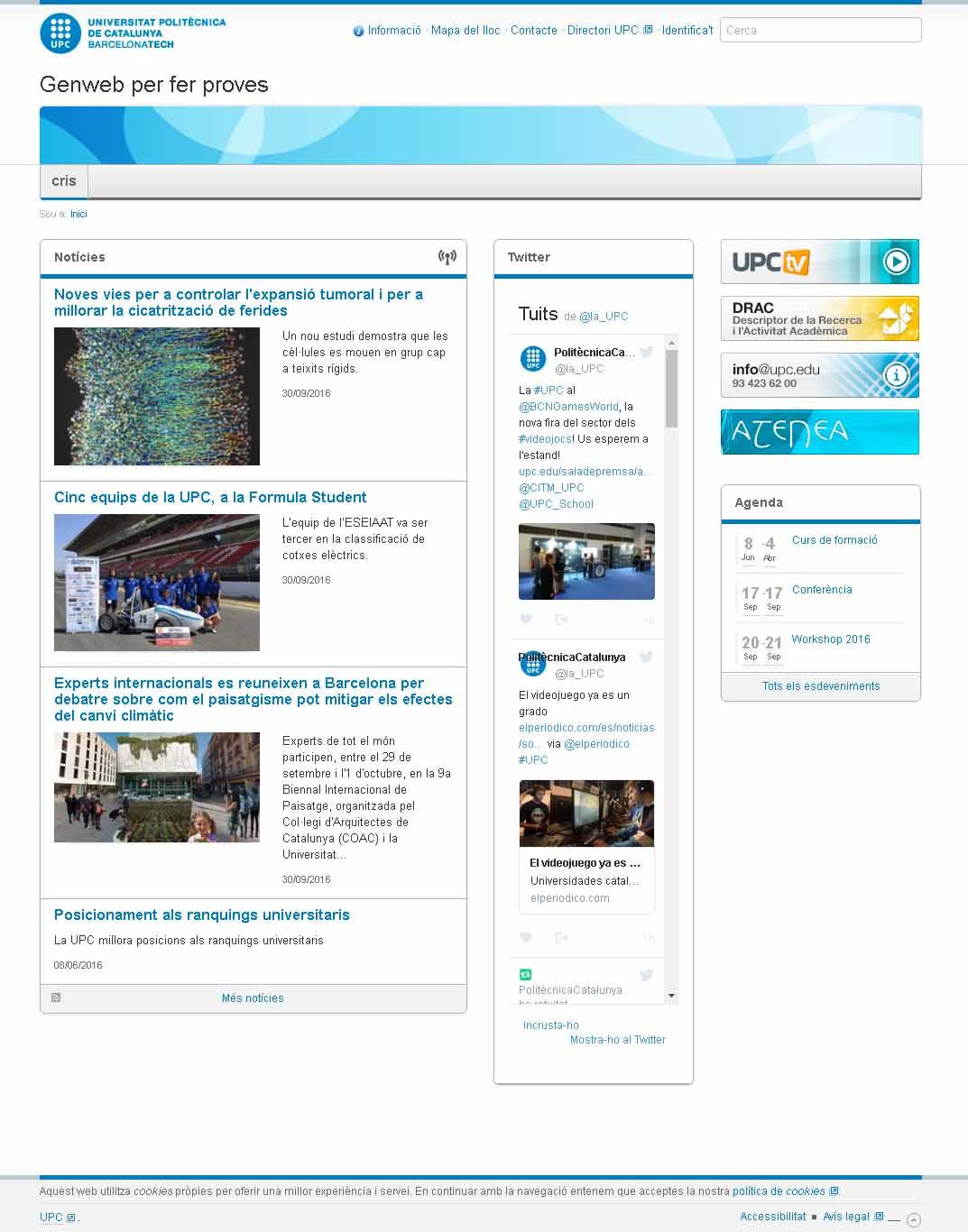 Notícies amb foto esquerre text dreta